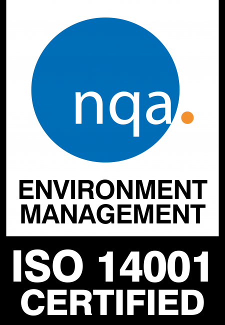 NQA certification ISO 14001 : 2015