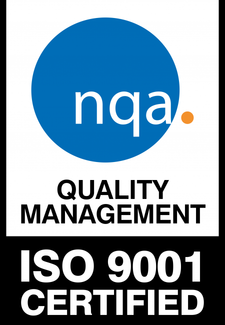 NQA cetification ISO 9001 : 2015